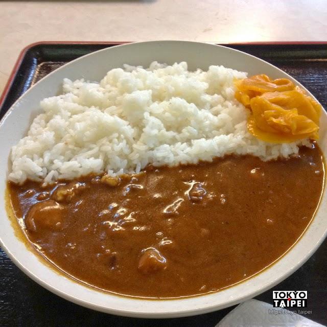 【真名井】以瀑布為名的餐廳 為了躲雨而吃盤咖哩飯