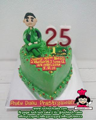 Kue Tart Tema Tentara Angkatan Darat