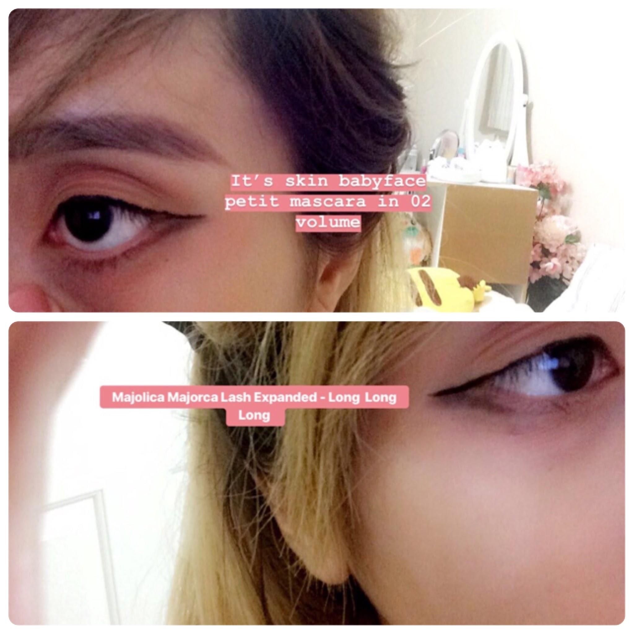 Review: [ It's Skin ]  Babyface Petit Mascara & Majolica Majorca Lash Expander [ Long Long Long ]