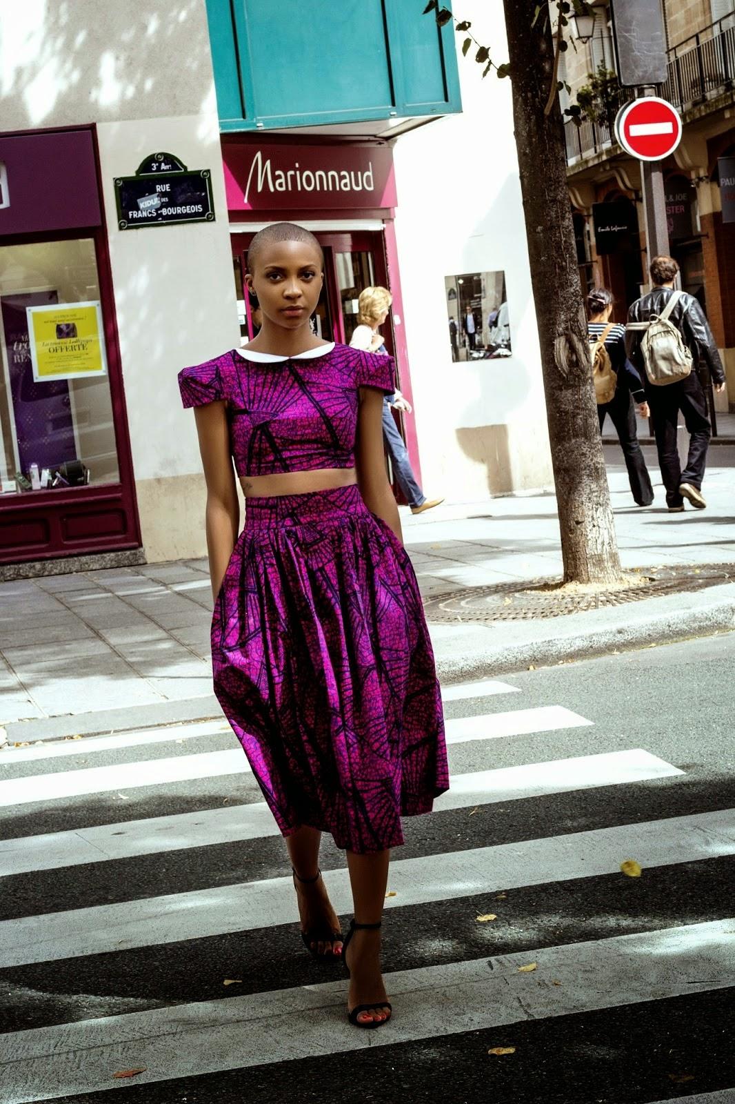La Parisienne By Natacha Baco Diane Audrey Ngako et Jeannie Samnick