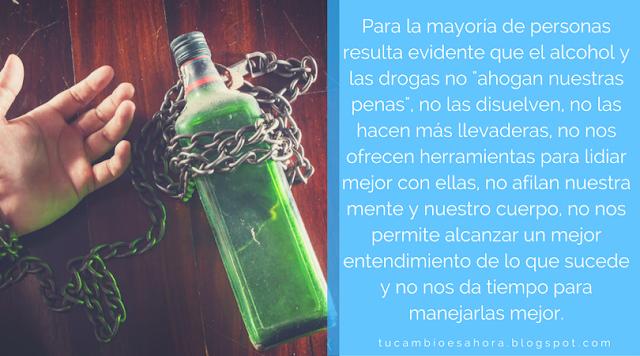 Consumo de drogas y alcohol