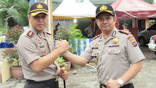 Amankan Arus Mudik Lebaran,Duo Kapolres Bangun Komunikasi Lintas Wilayah