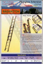 Harga Washington Tangga Fiberglass WA32FT Murah