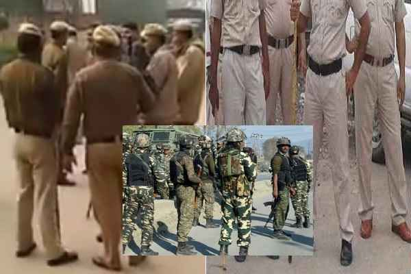 faridabad-police-security-strong-room-evm-after-loksabha-electio-2019