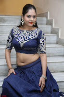 Ruchi Pandey in Blue Embrodiery Choli ghagra at Idem Deyyam music launch ~ Celebrities Exclusive Galleries 046.JPG