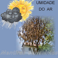 Umidade relativa do ar e Umidade absoluta do ar.