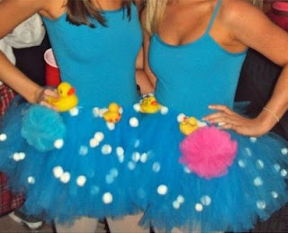 halloween costume bubble bath tulle skirt