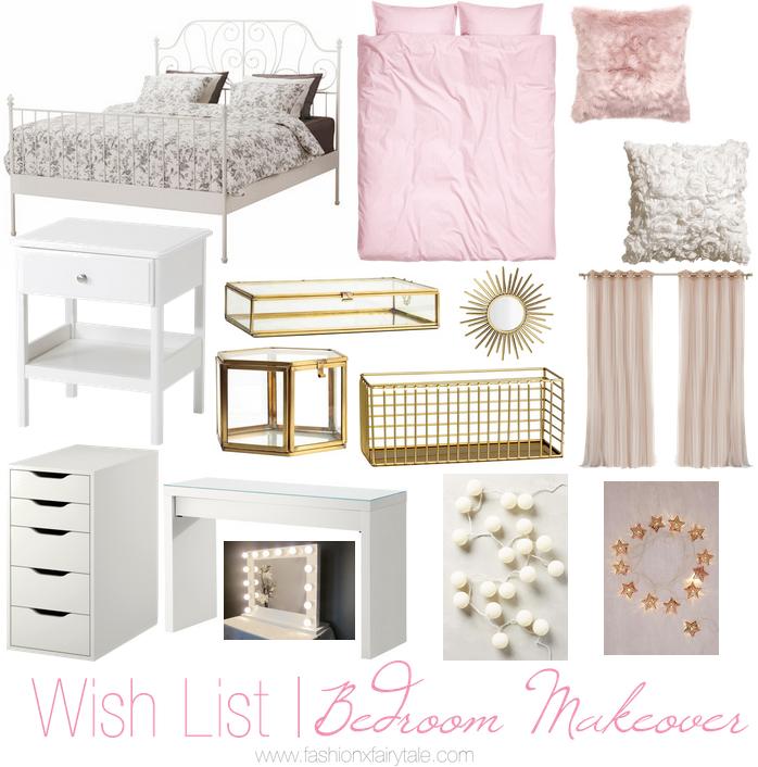 Wish List | Bedroom Makeover