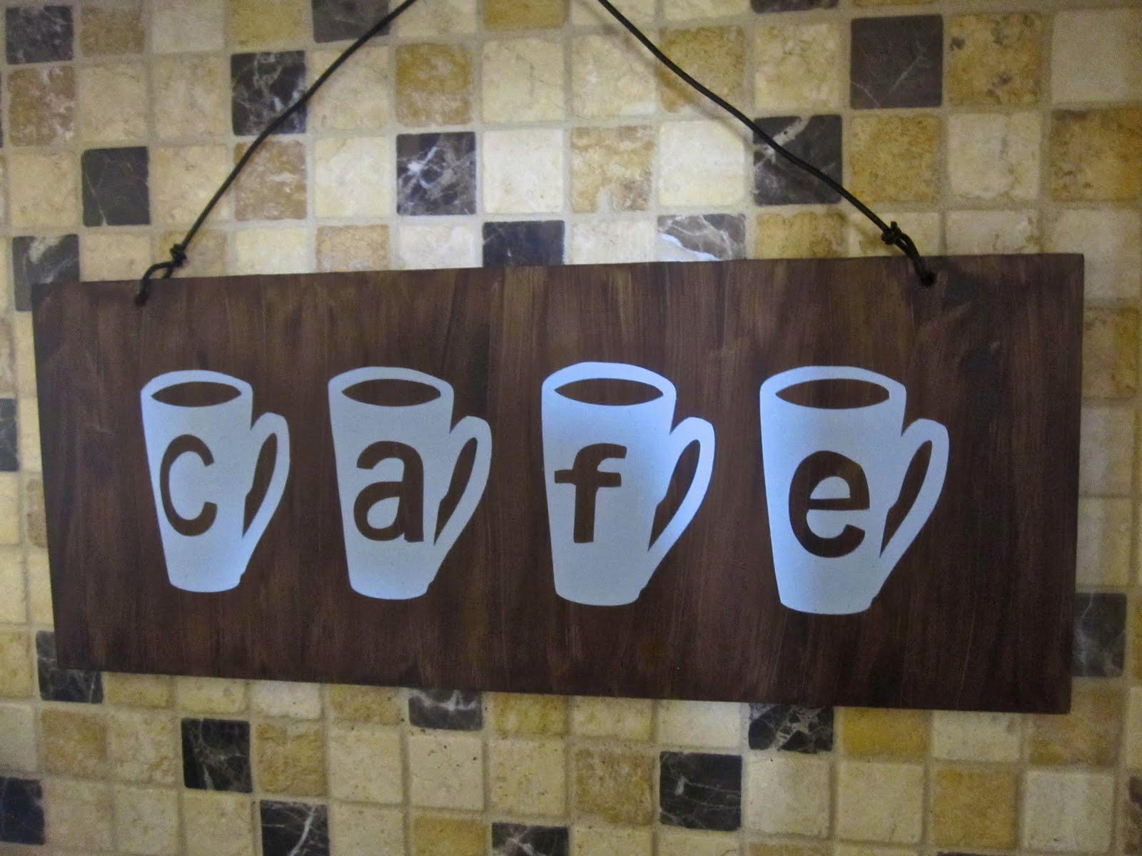Allyballydesigns Cafe Sign