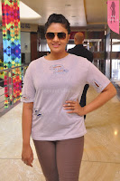 Sri Mukhi in Denim and Jacket at Max Summer Collection Launch  Exclusive 048.JPG