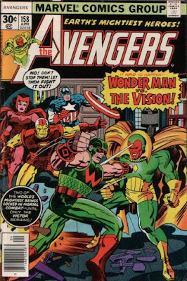 Avengers #158, Vision vs Wonder Man