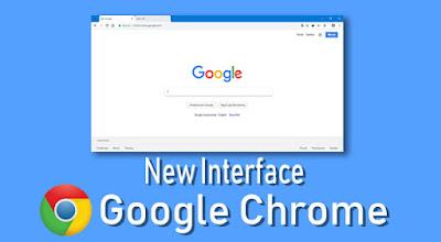 Mengaktifkan tampilan baru di Google Chrome