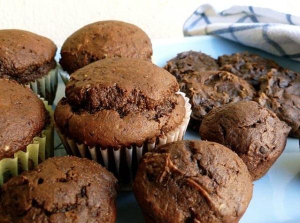2-Ingredient Chocolate Pumpkin Muffins & Cookies