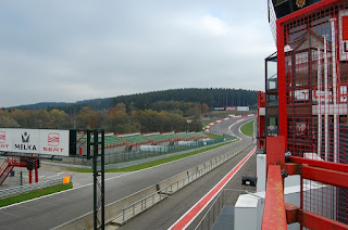 spa-francorchamps racetrack