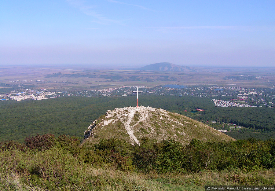 Крест на горе Бештау