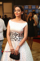 Actress Pooja Salvi Stills in White Dress at SIIMA Short Film Awards 2017 .COM 0091.JPG