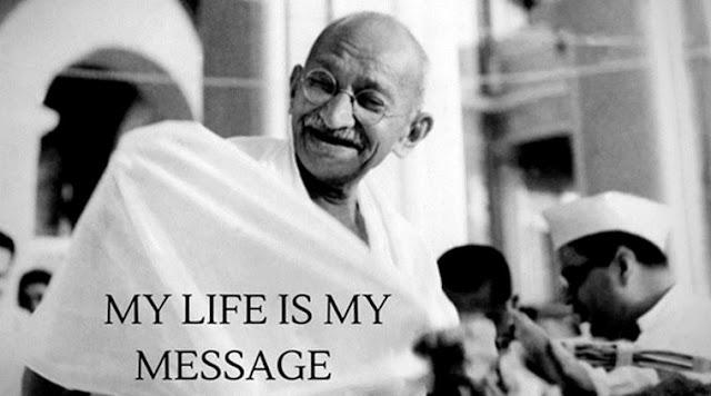 Mahatma Gandhi inspiring life messages