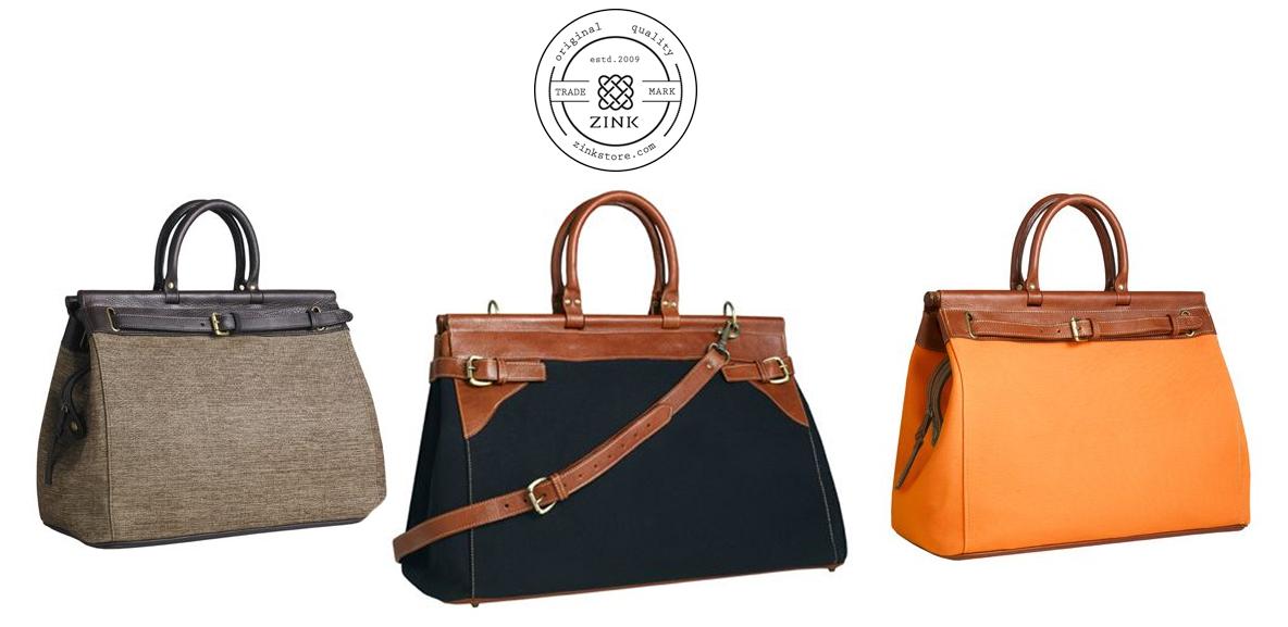 Zink Handbags