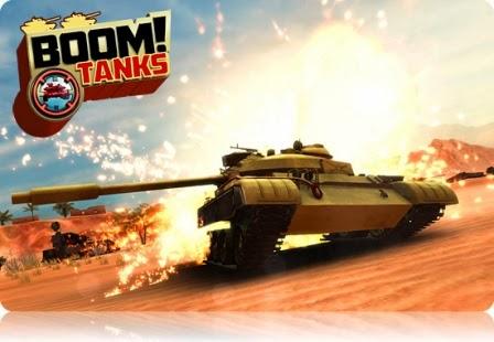 Download Boom! Tanks MOD APK+DATA (Unlimited Money)