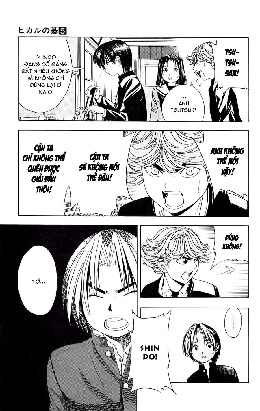 Hikaru No Go hikaru no go chap 42 trang 12