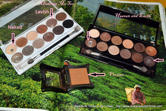 Makeup Academy Eyeshadow Palettes