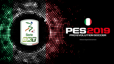 PES 2019 Italian Serie BKT Patch for PTE Patch 3.1 by ilcerchiodigesso