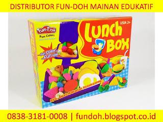Fun-Doh Lunch Box, fun doh indonesia, fun doh surabaya, distributor fun doh surabaya, grosir fun doh surabaya, jual fun doh lengkap, mainan anak edukatif, mainan lilin fun doh, mainan anak perempuan