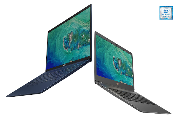 IFA 2018 Acer Swift 5 (SF515-51T) announced, World's lightest 15-inch notebook