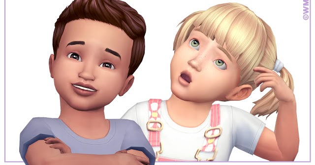 My Sims 4 Blog Toddler Brows By Wms