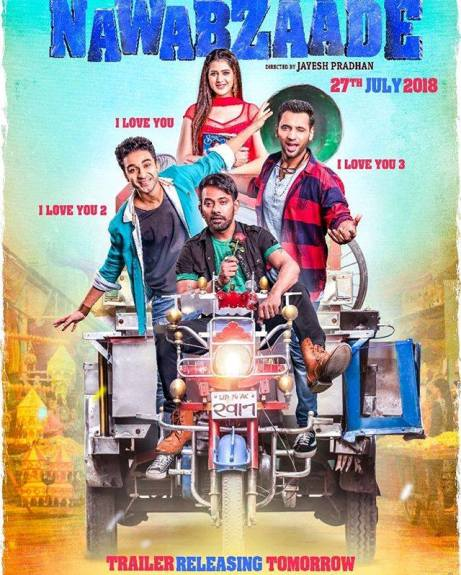 full cast and crew of movie Nawabzaade 2018 wiki Nawabzaade story, release date, Nawabzaade – wikipedia Actress poster, trailer, Video, News, Photos, Wallpaper