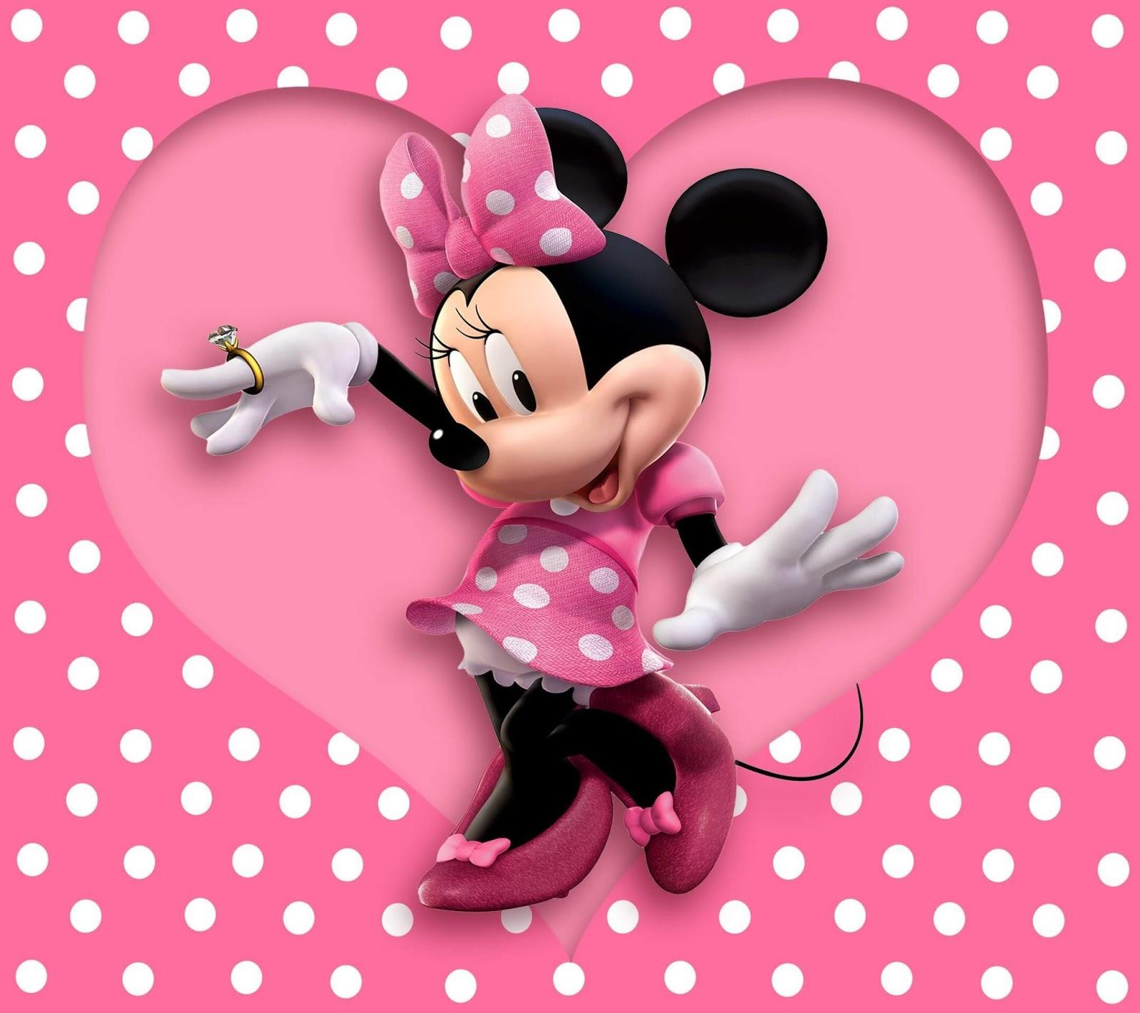 Ultra HD 4K Minnie Mouse Wallpaper Download