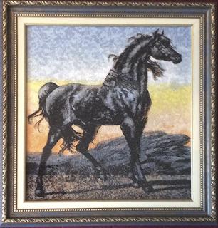Вышивка кони фотостежок