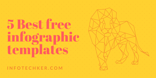 5 Best free Infographic Templates maker ( tool ) for Beginner