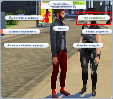 Sims rencontres et baisers jeux