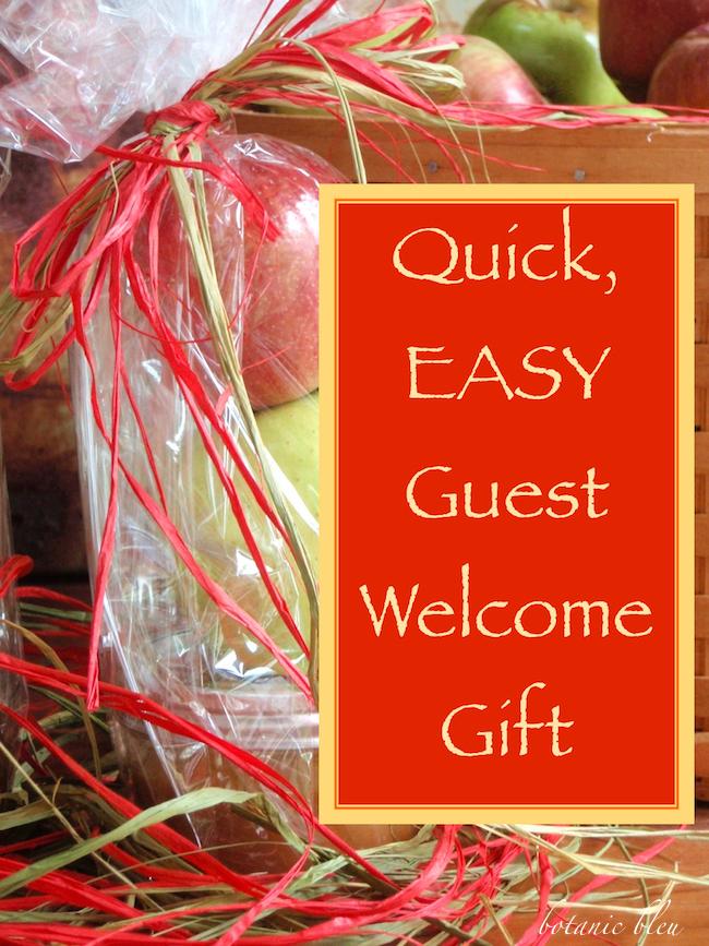 Botanic Bleu: Quick, EASY Caramel Apple Gift Bag