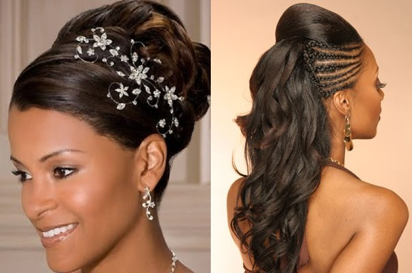 50 Wedding Hairstyles For Nigerian Brides And Black: BngHair.com Blogspot: February 2016