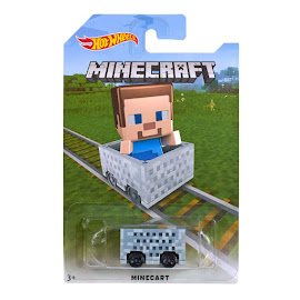 Minecraft Mattel Minecart Other Figure