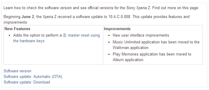 Sony Xperia Z for T-Mobile receives Android 4 3 Jelly Bean