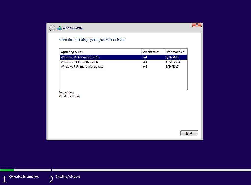 Windows 7,8.1,10 AIO 3 trong 1 tích hợp update mới nhất tháng 3 2017