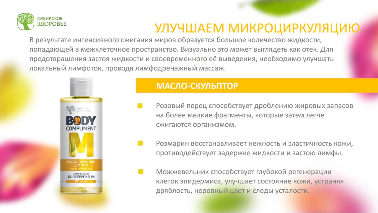 Сибирское здоровье для похудения каталог