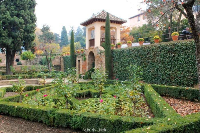 Jardines de El Partal, Alhambra de Granada