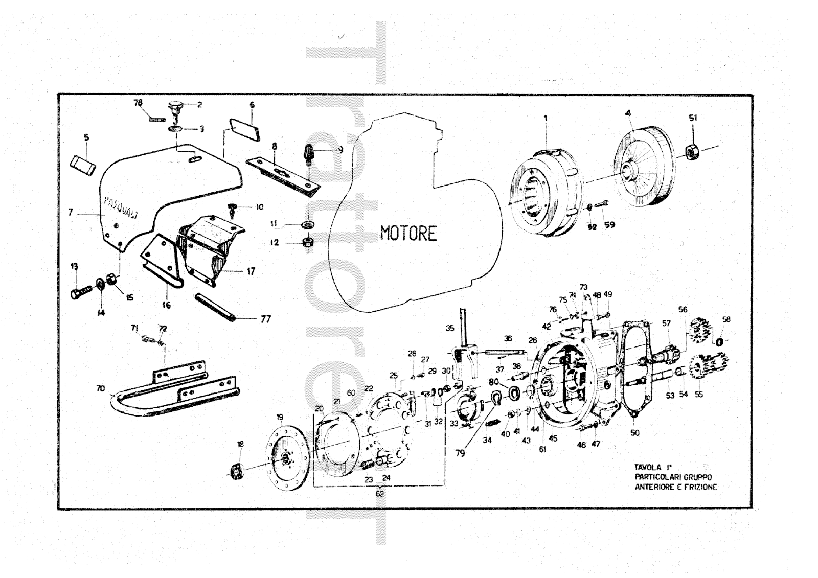 InfoTrattore.it: Motocoltivatore Pasquali 933 CV 8 manuale