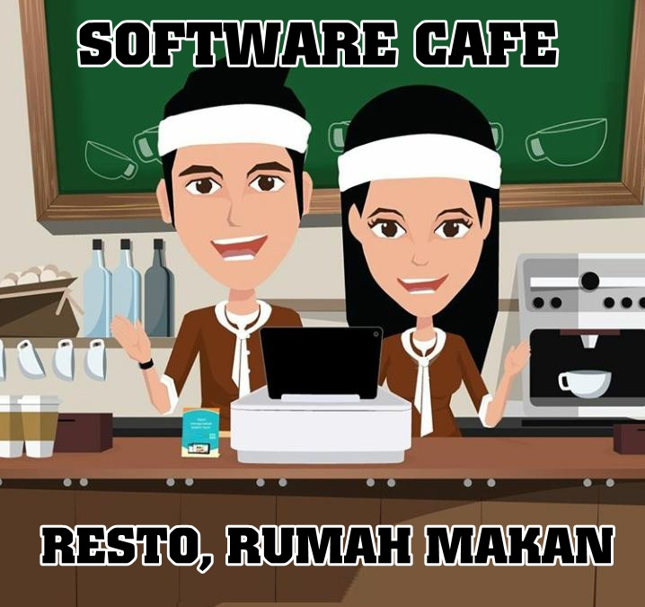 Software Resto, Café, Rumah Makan, Warung Makan
