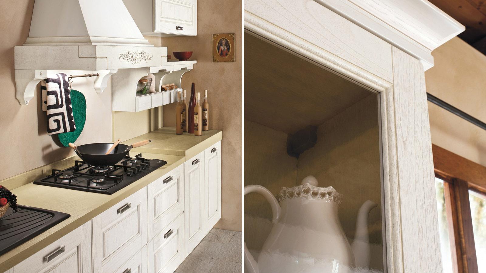 La cucina di oggi bella e pratica shabby chic interiors for Idee per arredare un trullo