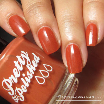nail polish swatch of Patch by Pretty & Polished