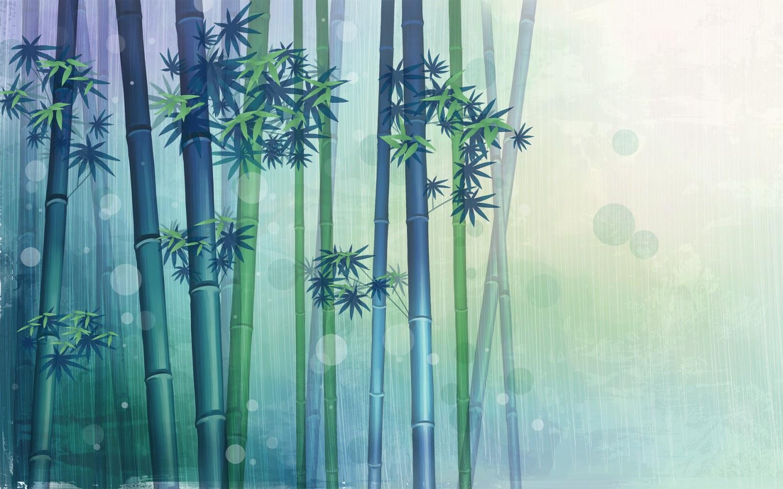bamboo drawing - photo #37