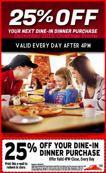 Pizza hut coupons canada december 2018
