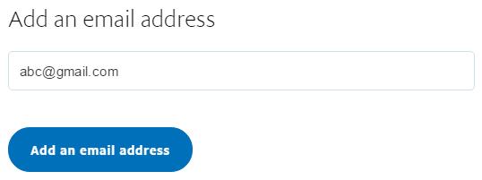 Thêm email phụ hoặc tài khoản phụ trong paypal