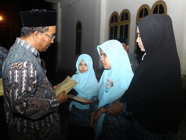 Alhamdulillah, Juara MTQ Aceh Ke-32 Terima Bonus Dari Pemkab Aceh Besar