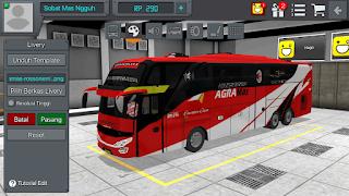 Download Livery Bus Bussid Ac Milan Bus keren Rossoneri hanya 1 di indonesia